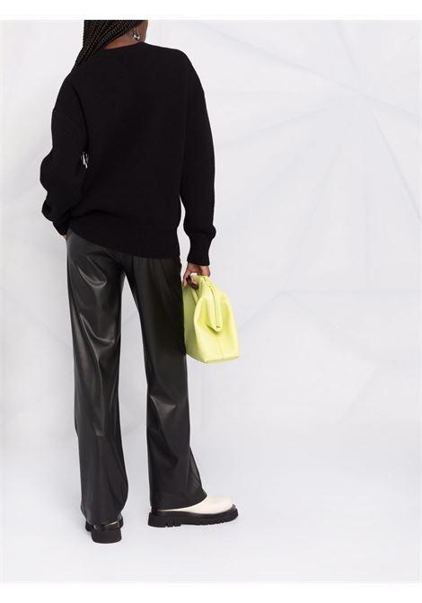 black wool and brass embellished crew-neck jumper  BOTTEGA VENETA |  | 665073-V0Z401000