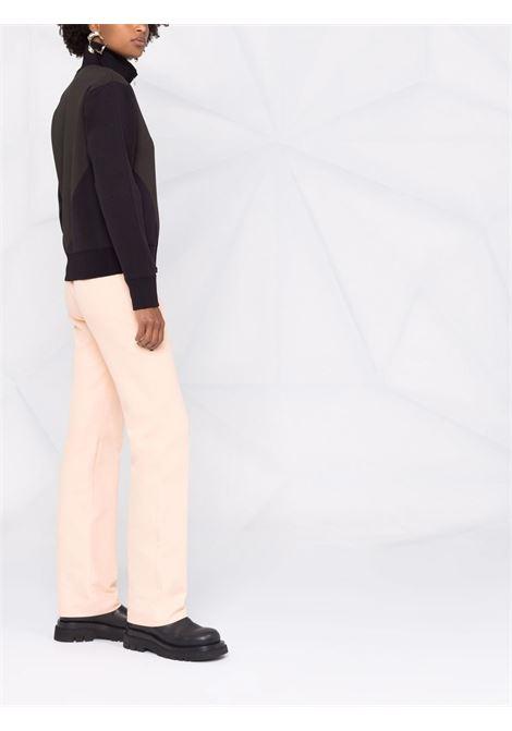 Contrasting blue and gray technical fabric cardigan  BOTTEGA VENETA |  | 665076-V0C102113