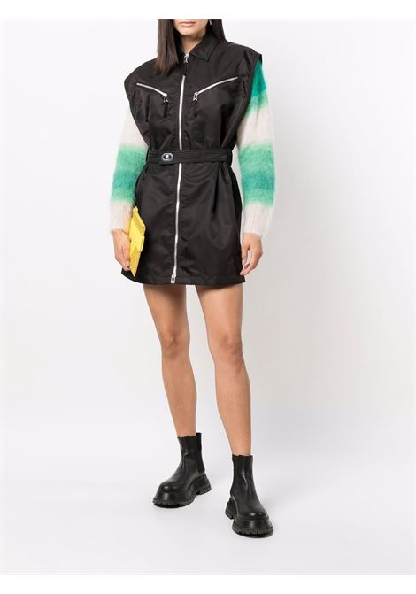 Black zip-up sleeveless shirtdress BOTTEGA VENETA |  | 665681-VKIL02113