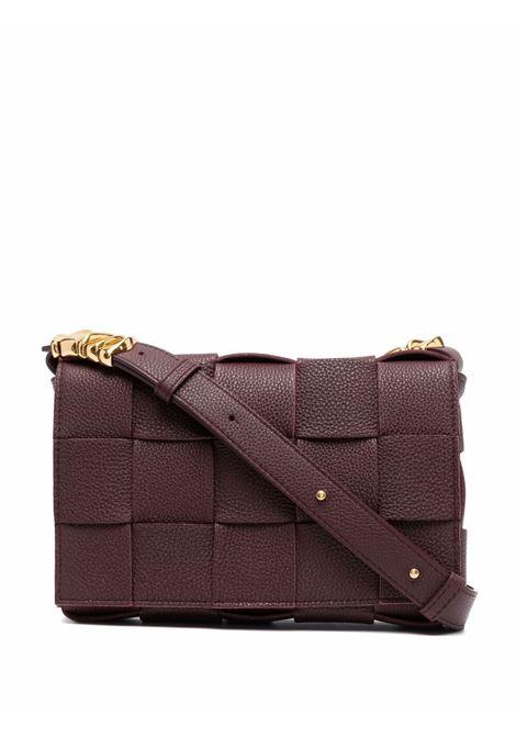 brown calf leather Cassette shoulder bag  BOTTEGA VENETA |  | 666870-V17H16111