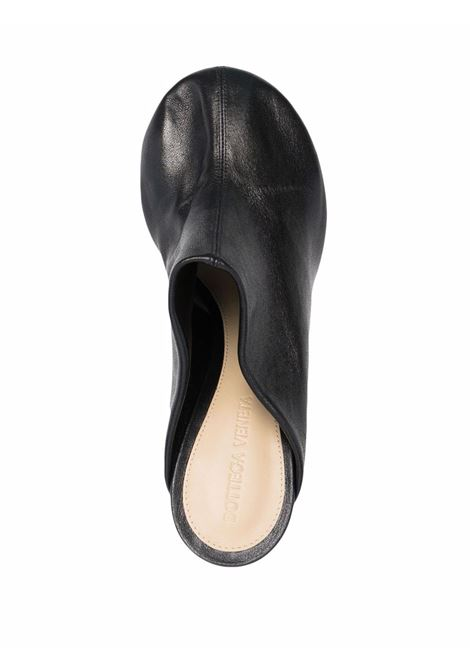 Black lamb leather Mule Dot Sock 90mm mules  BOTTEGA VENETA |  | 667191-VPB401000