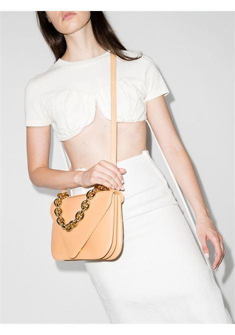 Almond calf leather medium Mount shoulder bag  BOTTEGA VENETA |  | 667398-V12J02700