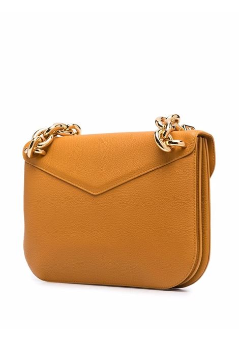 Dark sun yellow calf leather Mount clutch bag  BOTTEGA VENETA |  | 667398-V12M07716