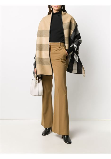 beige cashmere and wool blend 60x180 Icon Stripe scarf BURBERRY |  | 8021949-ST HALF MEGA PKA7026