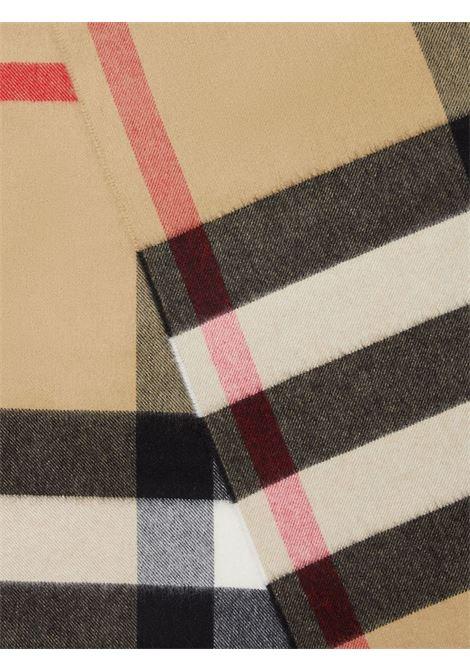 Archive beige 250x70 cashmere Vintage Check scarf  BURBERRY |  | 8045335-MU OVS HLF MGA CHKA7026