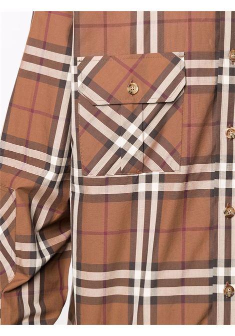 Birch brown cotton Vintage Check-print shirt  BURBERRY |  | 8045978-COULSDONA9697