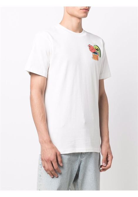 White cotton T-shirt featuring graphic print to the rear CHINATOWN MARKET |  | 1990520-DAWG DAYSCREAM