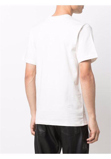White cotton Watercolour Arc logo T-shirt   CHINATOWN MARKET |  | 1990544-WATERCOLOR ARCCREAM