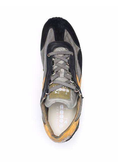 Grey leather and black suede Equipetrainers  DIADORA |  | 174736-EQUIPE H DIRTY STONE WASH EVO75033