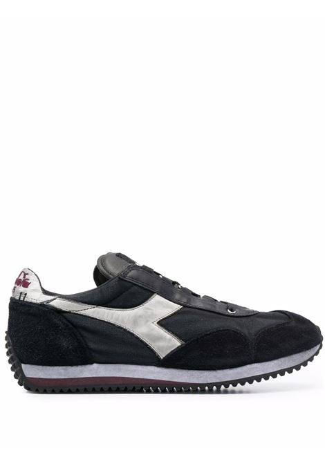 Black leather and suede Equipe trainers  DIADORA |  | 174736-EQUIPE H DIRTY STONE WASH EVO80004