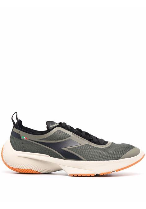 Military-green,black and white Urban Equipe low-top sneakers  DIADORA |  | 177733-URBAN EQUIPE LIBRA70166