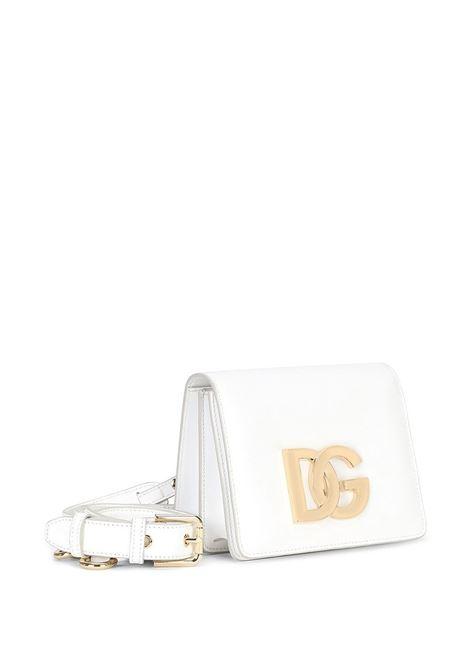 White leather Millennialscrossbody bag  DOLCE & GABBANA      BB7037-AW57680002