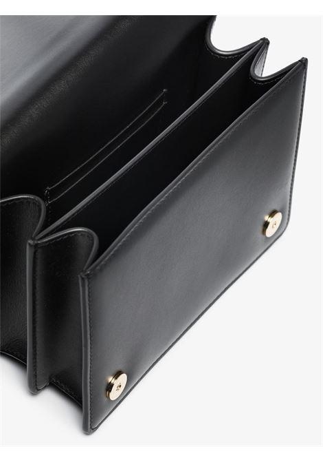 Black calf leather Millenials satchel bag  DOLCE & GABBANA      BB7037-AW57680999