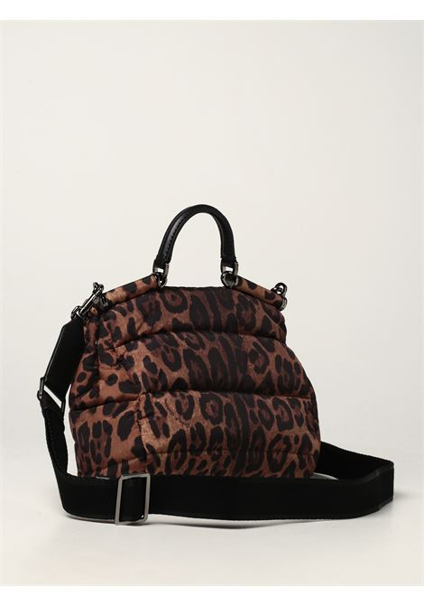 brown leopard print calf leather Miss Sicily tote bag   DOLCE & GABBANA |  | BM2010-AO824HADRM