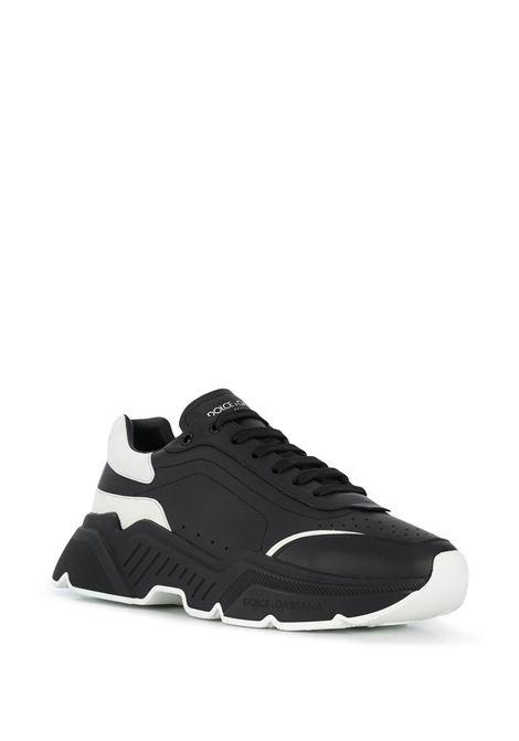 Sneakers Daymaster in pelle di vitello nera e bianca DOLCE & GABBANA | Sneakers | CS1791-AX58989690