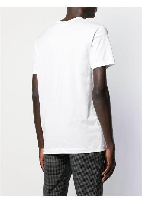 Optical white cotton T-shirt  DOLCE & GABBANA |  | G8KJ9T-FU7EQW0800