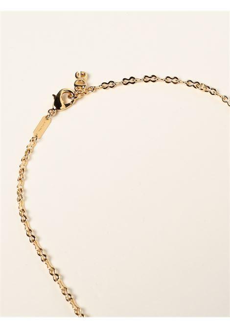 Collana a catena con logo DG in ottone dorato DOLCE & GABBANA   Collana   WNN5Y2-W1111ZOO00