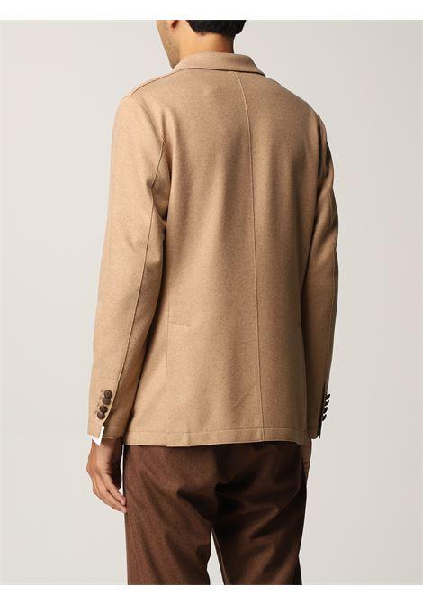 Camel brown wool blazer  ELEVENTY |  | D70GIAB08-JAC2401804A