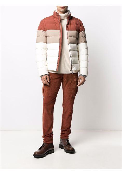 Rust-brown cotton corduroy cargo trousers  ELEVENTY |  | D70PAND03-TET0D00709