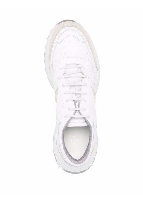 Sabbia white leather low-top sneakers  ELEVENTY |  | D72SCND04-SCA0D01302