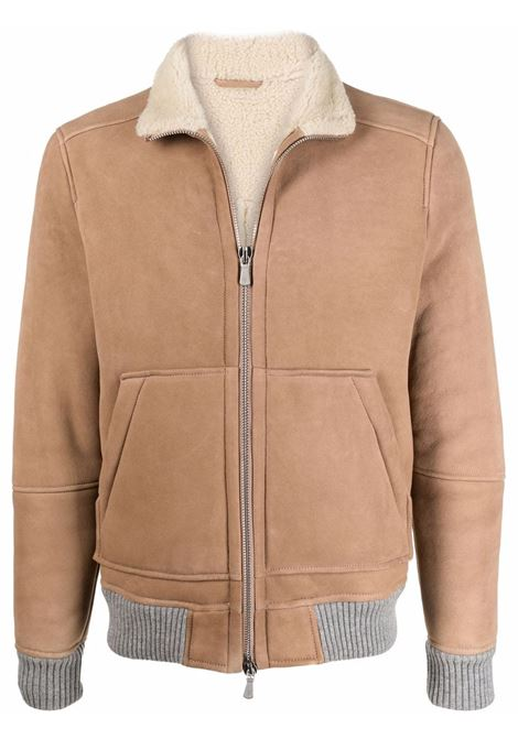 Sabbia lambskin zipped jacket ELEVENTY      D75GBTD16-SHY0D00302