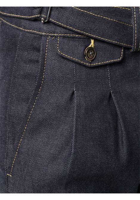 Dark blue cotton skinny-cut denim jeans  ELEVENTY |  | D75PAND07-TET0D01311