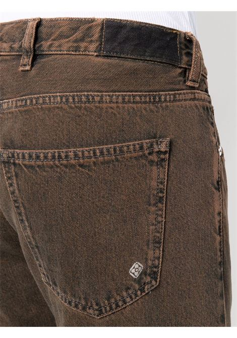 Dark-brown cotton mid-rise cropped jeans  ELEVENTY |  | D75PAND15-TET0D01905