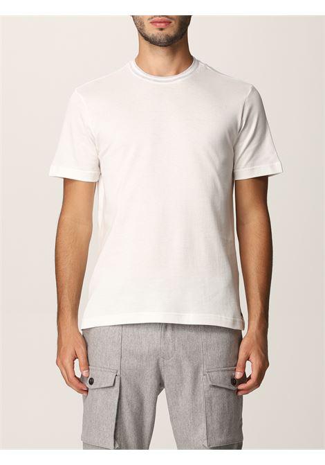 Bright white cotton short-sleeved T-shirt  ELEVENTY |  | D75TSHD03-TSH2600101