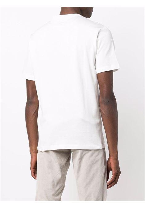 T-shirt a maniche corte in cotone bianco con scollo tondo ELEVENTY | T-shirt | D75TSHD03-TSH2600114