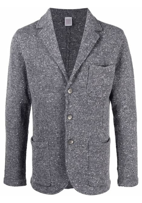 Medium grey wool and cashmere single-breasted knitted jacket  ELEVENTY |  | D76GIAD01-MAG0D00214