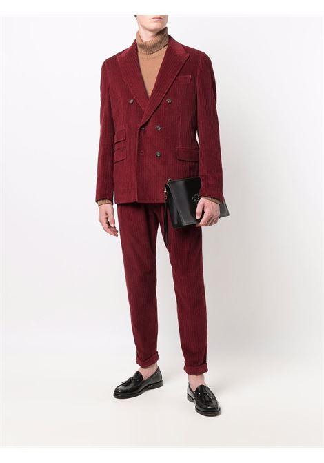 Maglione a collo alto in lana vergine color cammello ELEVENTY | Maglieria | D76MAGD19-MAG2401204A