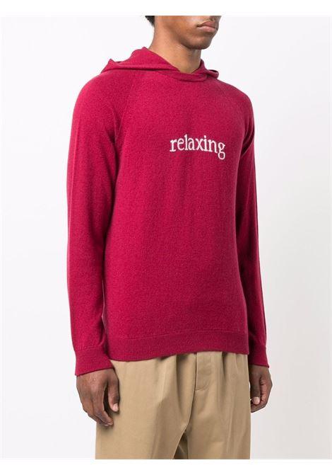 Felpa Relaxing in maglia di lana e cashmere rosso ELEVENTY | Maglieria | D76MAGD39-MAG0D02718