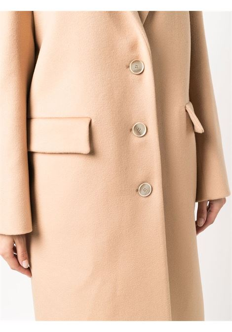 Cappotto monopetto in lana color cammello chiaro ELEVENTY | Cappotti | D80CAPD05-TES0B20604