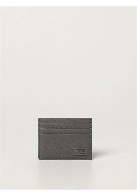 Grey grained leather cardholder featuring FF logo plaque FENDI |  | 7M0164-AG0LF0ZJ4