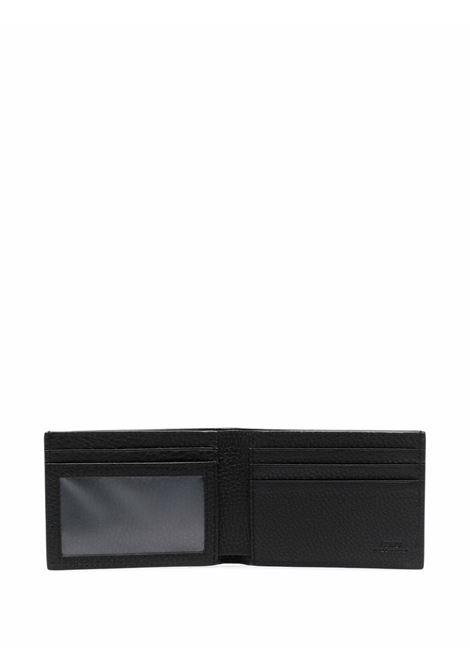 Black grained leather wallet featuring FF logo FENDI |  | 7M0303-AG0LF0QA1