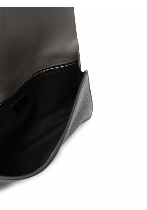 Small Baguette shoulder bag  in grey Romano leather  FENDI |  | 7VA524-AG0LF0ZJ4