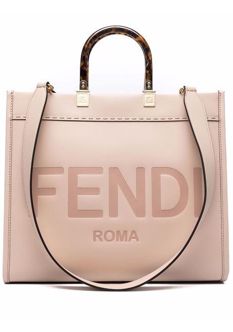 Dusty pink leather Sunshine tote bag  FENDI |  | 8BH386-ABVLF1BA9