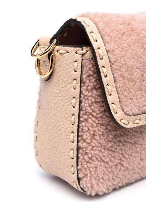 beige flannel Baguette bag with all-over Fendi monogram FENDI |  | 8BR792-AH9EF1FEM