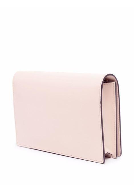 Pink leather mini chain strap wallet featuring Fendi logo FENDI |  | 8BS006-AAYZF1BA9