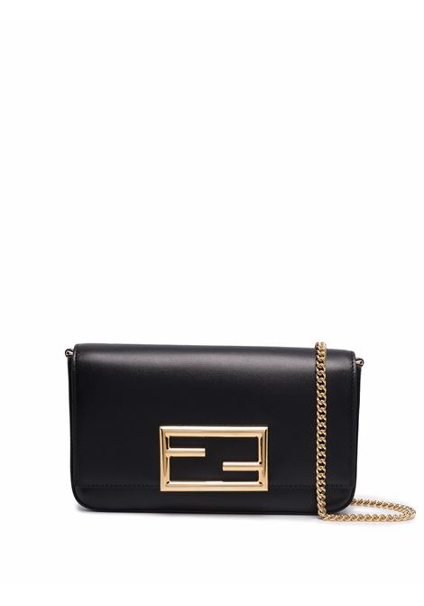 Black leather Fendi Way crossbody bag  FENDI |  | 8BS032-AHM0F0KUR