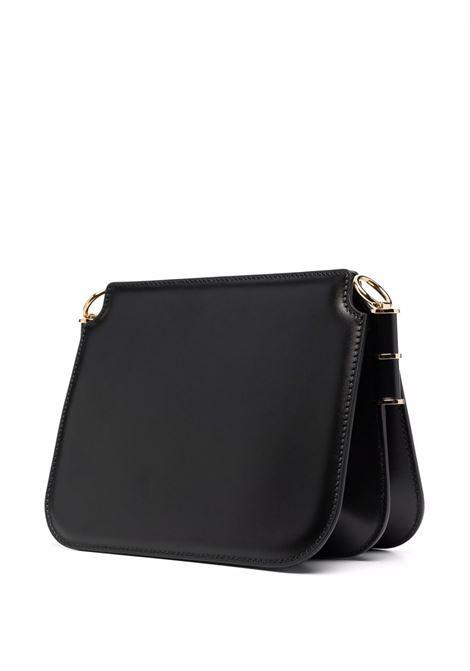 Black calf leather Touch bag featuring gold FF logo plaque, FENDI |  | 8BT349-AHK2F0KUR
