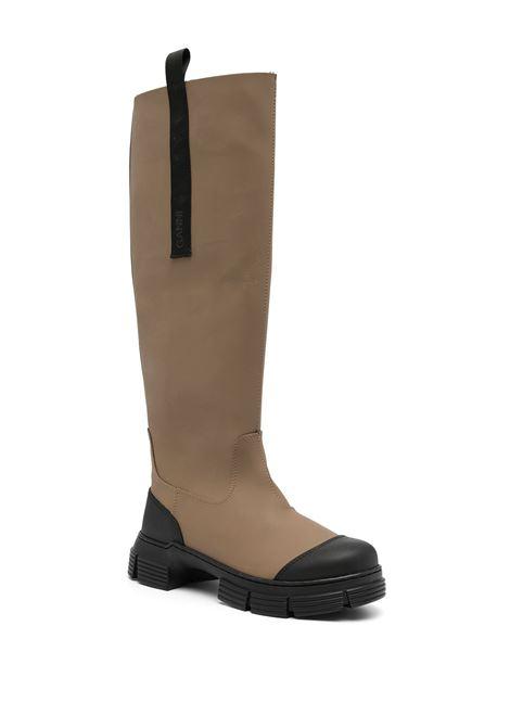 stivali al ginocchio neri e marroni GANNI | Stivali | S1595189