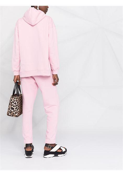 pantaloni sportivi affusolati rosa in cotone organico riciclato GANNI | Pantaloni | T2925465