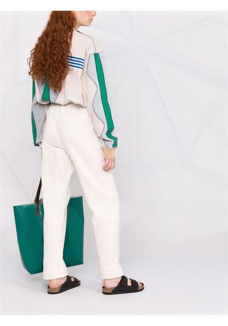 White cotton cotton sweat pants featuring embroidered Ganni logo GANNI |  | T2926135