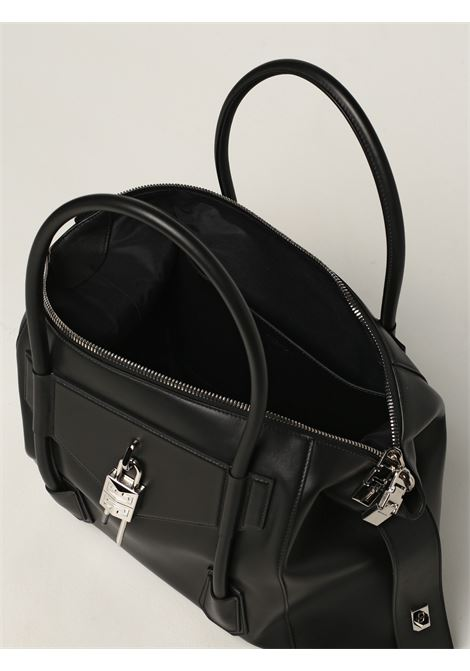 Black calf leather Antigona Soft Lock tote bag   GIVENCHY      BB50HAB11E-ANTIGONA SOFT001