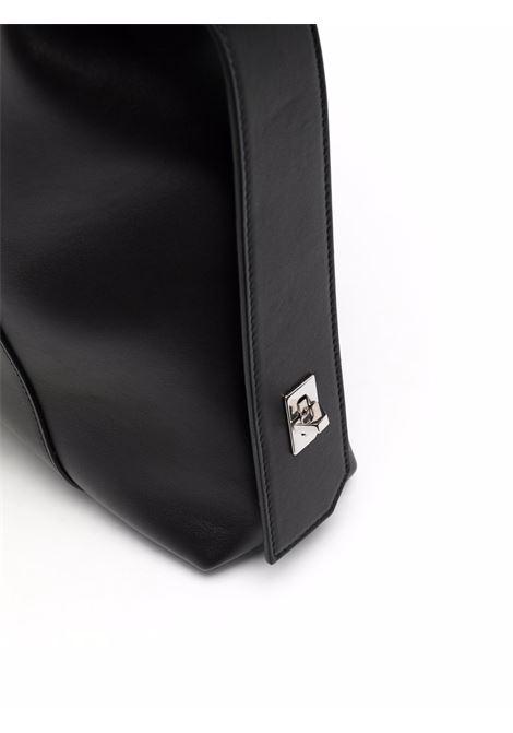 Borsa tote Antigona Soft Lock in pelle di vitello nera GIVENCHY | Borse a tracolla | BB50HAB11E-ANTIGONA SOFT001
