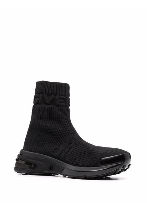 Black sock sneakers with embossed Givenchy logo GIVENCHY |  | BE001XE122001