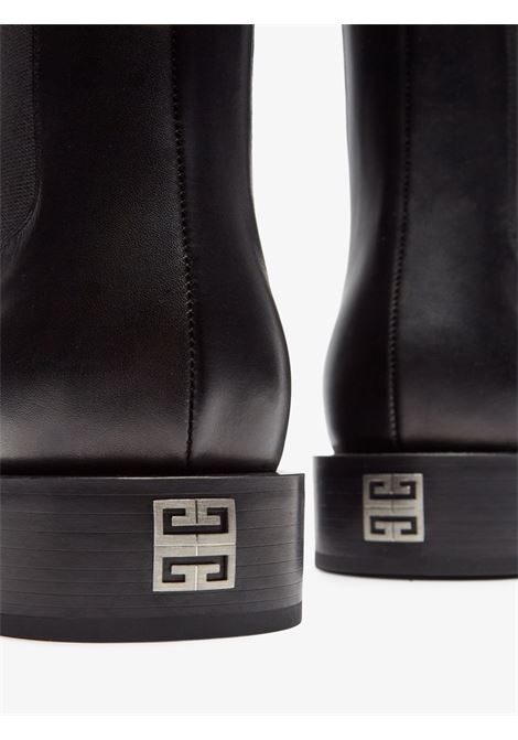 Black calf leather 4G Chelsea Boots GIVENCHY |  | BH6033H0VG001