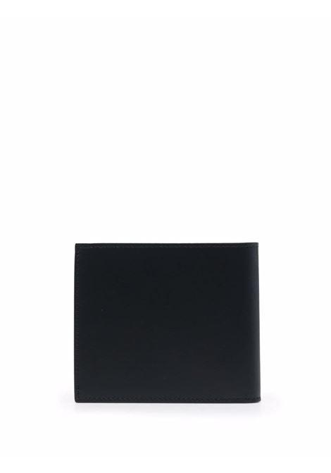 Portafoglio in pelle di vitello nero con stampa trompe l'oeil GIVENCHY | Portafogli | BK609AK18Y-8CC BILLFOLD001