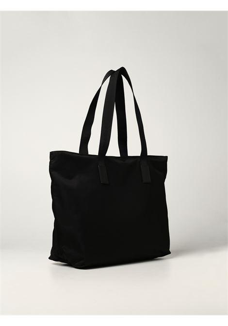 Black nylon tote bag featuring Givenchy logo patch  GIVENCHY |  | BM508MK17N-4G LIGHT001